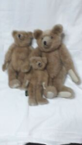 3 x 1993 Jointed Mary Meyer The Green Mountain Bears