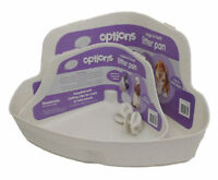 Options Corner Litter Tray Med