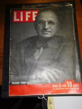Life Magazine from April 23,1945-Special Issue
