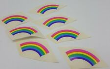 Mrs Grossmans Rainbow Sticker Lot 7 Modules 2 inch 1980s 1981 USA Pride