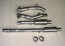 Audi S4 B5 2.7L V6 Bi-Turbo DOWNPIPES  RESONATED TT
