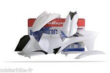 Kit plastiques Coques Polisport KTM 125 250 SX SX125 SX250 2012 couleur BLANC