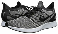 Nike Air Zoom Mariah Flyknit Racer Oreo White Running Shoes 918264-015 Mens 10