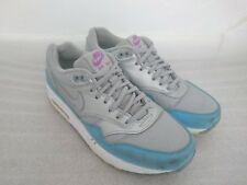 Rare NIKE AIR MAX 1 FB Trainers Size UK 5.5 | 579920-004 Metallic Silver & Blue