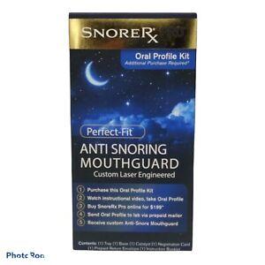 SnoreRx Pro Oral Profile Kit -Perfect-Fit Anti-Snoring Mouthguard