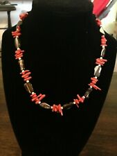 Cute Spiny Red Coral Necklace