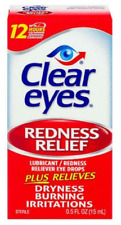 Clear Eyes Lubricant Redness Relief Eye Drops - 15mL - BRAND NEW & SEALED