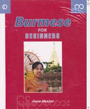 Learn Burmese ~100 Lessons Audio Book MP3 CD-iPod Friendly