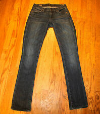 CITIZENS OF HUMANITY COH JEANS SZ 25 X 34 AVA STRETCH LOW WAIST STRAIGHT LEG