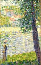 THE MORNING WALK Georges Seurat Fine Art Giclee Rolled CANVAS PRINT 24x36 in.