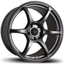 Avid1 AV26 18x9.5 +38 5x114.3 Hyper Black Impreza WRX Accord Civic Mazda3 Lancer