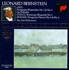 Liszt: Hungarian Rhapsodies 1 & 4; Les Preludes / Enescu: Romanian Rhapsody No..