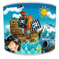 enfants abat-jour idéal correspond à PIRATE couettes & autocollants murales