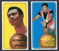 1970 BASKETBALL CARD LOT 2~NEAR MINT~CHET WALKER CHICAGO BULLS~GREG HOWARD SUNS