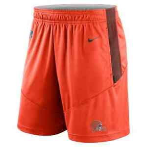 Brand New 2021 NFL Cleveland Browns Nike Sideline Performance Knit Shorts NWT