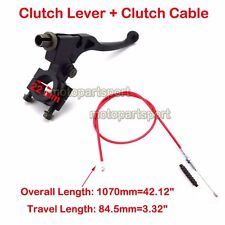 Pit Dirt Bike Clutch Lever Cable Red For Chinese Honda CRF50 XR Thumpstar 125cc