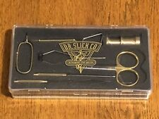 Dr. Slick Fly Tying Tool Set, 7 Tools & Fly Box, NR