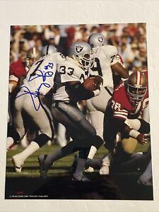 Kenny King Signed 8 x 10 Photo No COA Oakland Raiders ProLook