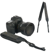 Black Camera Shoulder Neck Vintage Strap Belt for Sony Nikon Canon Olympus DSLR
