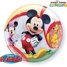 """1 x Qualatex 22"""" Bubble Balloon - Mickey Mouse Clubhouse"""