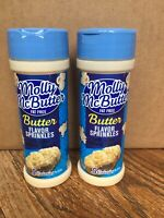 Two (2) Molly McButter Fat Free Flavor Sprinkles 5 calories per serving