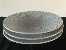 Set Of 3 - Tabletops Lifestyles CELESTIAL Salad Plates, Modern Minimal Swirl