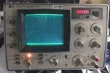 Hewlett Packard HP 3580A Spectrum Analyzer Frequency Sweep