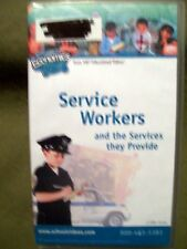 (8) 100% Educational VHS ~ Service Workers, Long Ago, Communities, Soil, .......