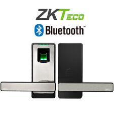 ZKTeco Fingerprint Bluetooth Keyless Door Lock Up to 90 Smart Home Entry Bedroom