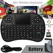 MINI TASTIERA KEYBOARD USB WIRELESS TOUCHPAD PER ANDROID SMART TV BOX CONSOLE PC