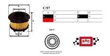 Filtro GPL METANO completo di ORING per vetture con impianti BRC