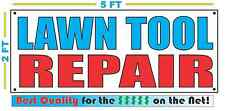 LAWN TOOL REPAIR Banner Sign NEW Larger Size Best Quality for The $$$$ Pawn Shop