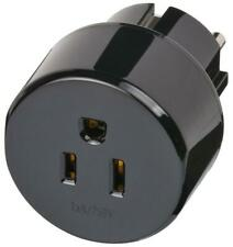 US/Japan to Euro Travel Adaptor, Earthed - BRENNENSTUHL