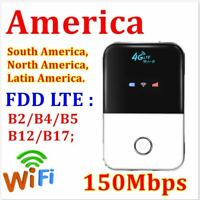 WiFi Wireless Router Unlocked 4G LTE Mobile Broadband Portable MiFi Hotspot AT&T