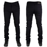MENS DENIM SUPER STRETCH SKINNY SLIM FIT JEANS ALL WAIST & LEG SIZES PLUS SIZES