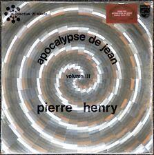33t Pierre Henry - Apocalypse de Jean volume III (LP)