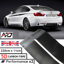 BMW 5 SERIES  F10/11 E60 M PERFORMANCE SIDE STICKER SKIRT DECALS VINYL CARBON 5D
