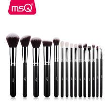 MSQ 15PCs Makeup Brush Set Fundation Angle Powder Cosmetics Synthetic Hair Brush