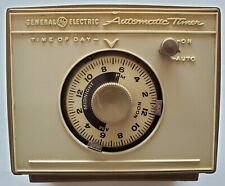 Vintage GE General Electric Automatic Timer Model 8117 Tested Working