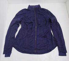 Lululemon Women's Inner Peace Jacket Color Concord Grape Size 12 Reversible