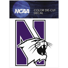 Northwestern Wildcats Logo NCAA Die Cut Vinyl Car Sticker Bumper Window