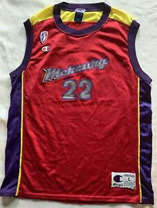VINTAGE CHAMPION PHOENIX MERCURY #22 GILLOM JERSEY WOMEN'S LARGE WNBA