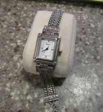 Brighton Tivoli Rectangle Face Multi Strand Toggle Watch Adjustable F108