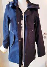 Damen Gaastra Jacke winddicht,wasserabweisend, atmungsaktiv Gr. M dunkelbla/gelb