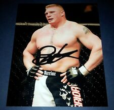 "BROCK LESNAR PP SIGNED 10""X8"" PHOTO REPRO UFC MMA WWE"