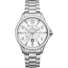 Bulova 96M109 Adventurer Silver Tone Stainless Steel Women's Watch  ~ GREAT GIFT
