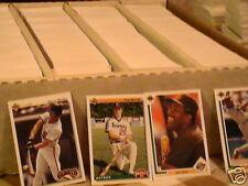 1990-91-92 Upperdeck Baseball pick 40 comp.your set nm
