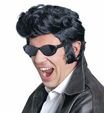 Widmann S.r.l.parrucca 'rock and Roll' modello Elvis Nero