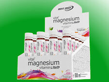 (28,60€/l) Best Body Nutrition - Magnesium Vitamin Ampullen - 20 x 25ml Ampullen