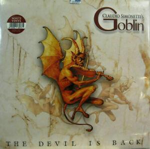 GOBLIN - THE DEVIL IS BACK - LP WHITE VINYL NEW SEALED 2019